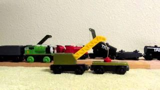 Thomas Wooden Railway Breakdown Train Review