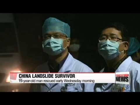 Survivor found 67 hours after China landslide