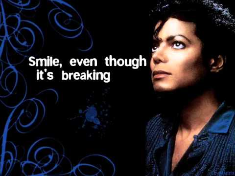 Michael Jackson - Smile Lyrics