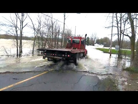 What's causing all the rain in Eastern Canada?
