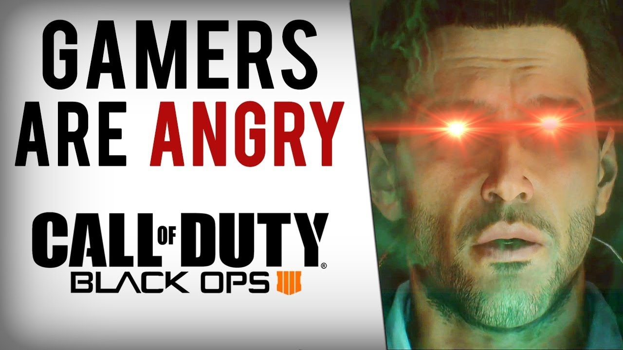 Why Gamers Are ANGRY with Black Ops 4.....2018's Battlefront 2 Like Mess!