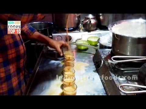 Tea Making Process in Tea Stall