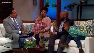 #OffScriptOn9: 1-2-3 Mom, Tolbert Family expecting triplets after twins, son