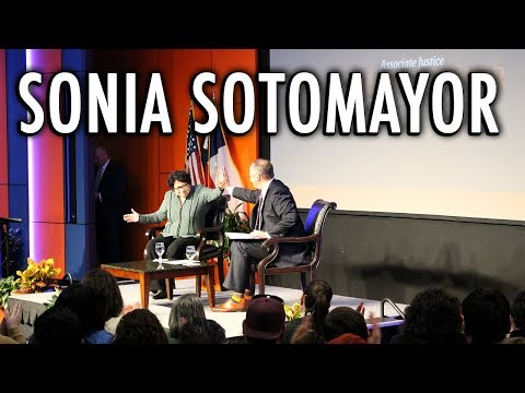 Sonia Sotomayor Visits UTSA