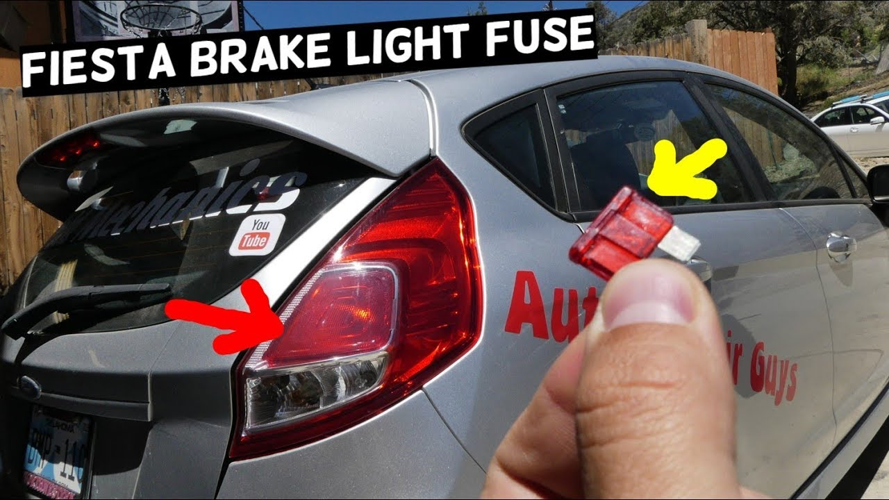 Ford Fiesta Brake Lights Fuse Mk7 St