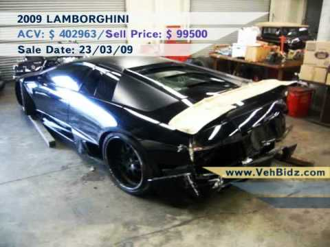 Totaled Cars For Sale >> Salvage Repairable Cars For Sale Youtube