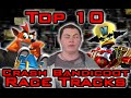 Top 10 Crash Bandicoot Race Tracks - Square Eyed Jak