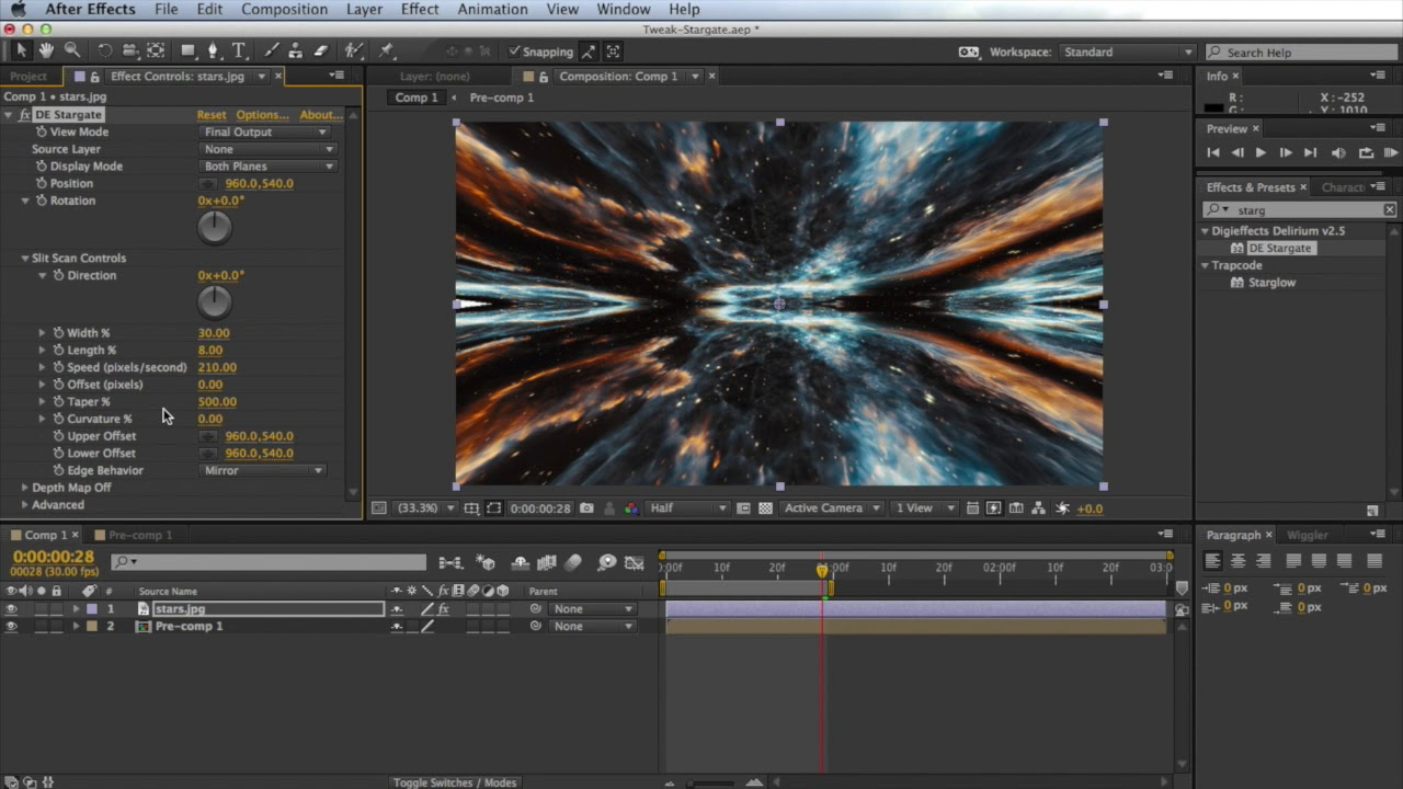 In Depth: Time Effects - Time Displacement aka Slit Scan