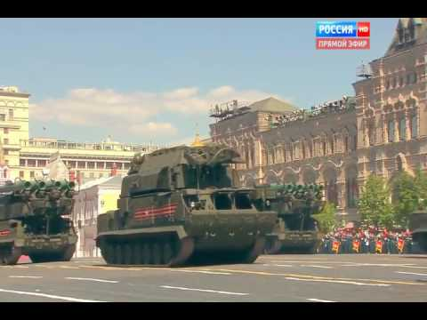 Russia 24   Victory Day Parade 2016  Full Army Military Assets Segment 720p