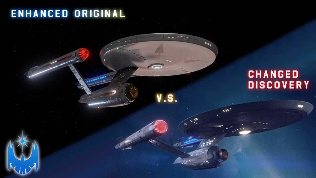 Fan Created Enhanced Original Enterprise VS Discovery's Enterprise - A Case For the Original!