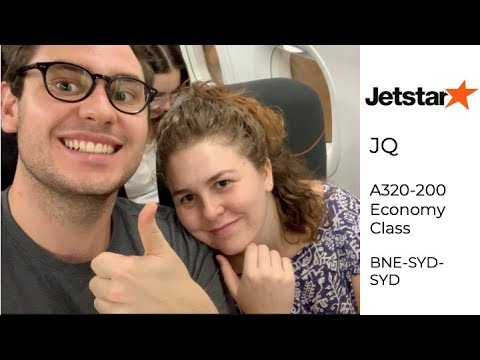 Jetstar A320-200 Brisbane to Sydney return, Trip Report