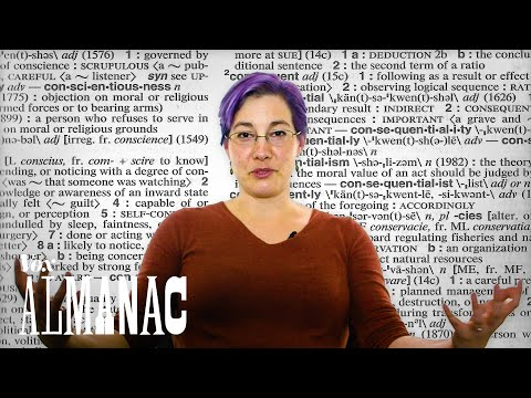 Thumbnail: How a dictionary writer defines English