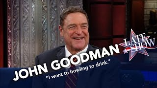 John Goodman Is A Gutterball Bowler
