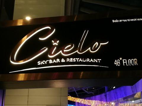@ Cielo Sky Bar & Restaurant, Bangkok