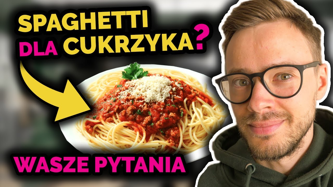 Spaghetti dla cukrzyków | Mój średni poziom cukru we krwi | Pies dla diabetyka | Q&A | Nie słodzę