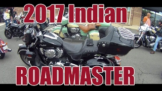 обзор-Тест драйв: 2017 Indian Roadmaster  Индиан Роадмастер