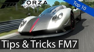 Forza Motorsport 7: Top 10 - Tips &T ricks to Improve