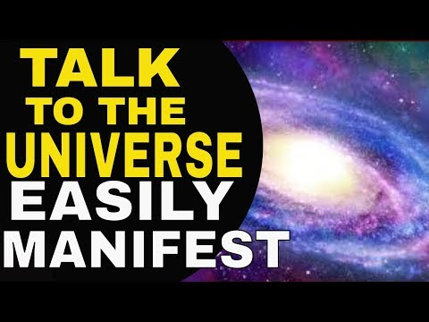 5 Powerful Ways To Talk With The Universe Better To Manifest Easily | Law of Attraction | The Secret