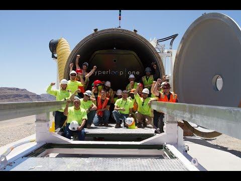 Virgin Hyperloop One State 2 Testing | 310 kph (190mph)