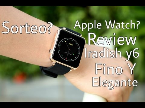 Unboxing | Iradish Y6 Smart Watch (Español)