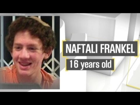 Israel mourns kidnapped, murdered teens.