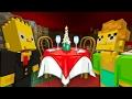 Bart Simpson Dates His Teacher | The Simpsons | Minecraft Xbox [28]