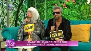Teo Show 15.01.2019   Tinutele Vedetelor Comentate De Bote Si Ralu Asa DA Sau Asa NU