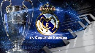 Real Madrid 13 Copas De Europa Youtube