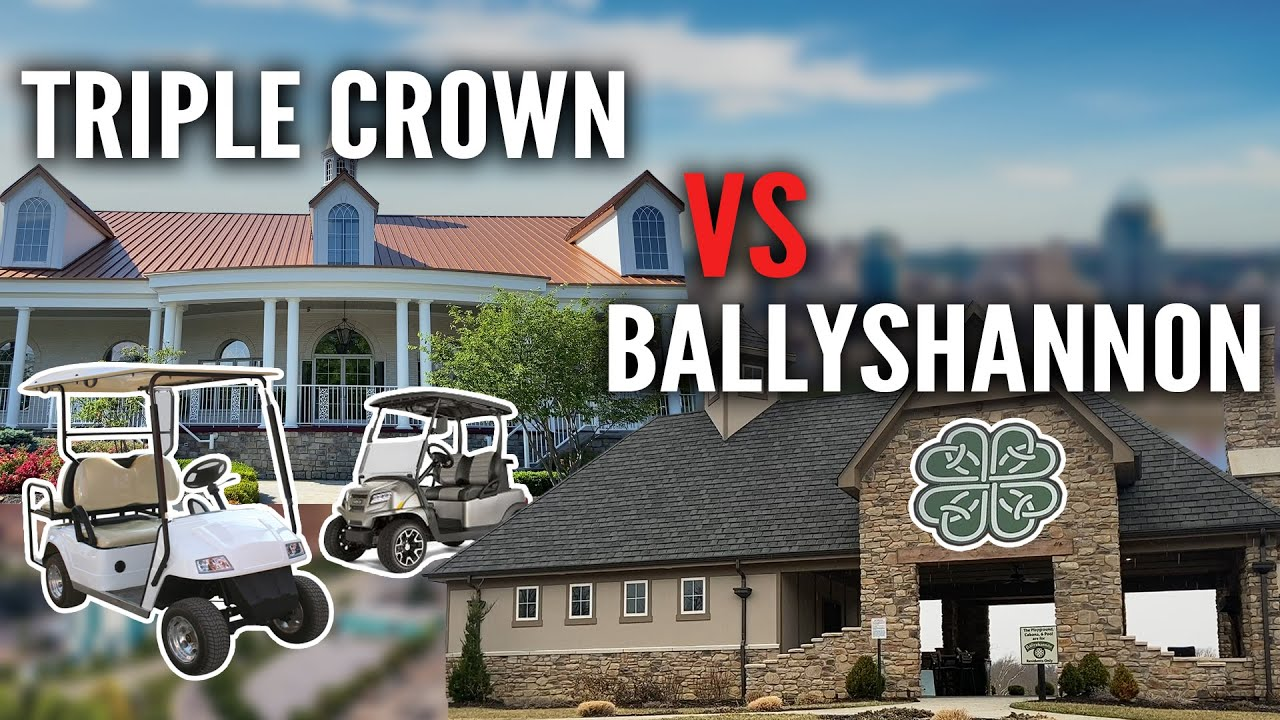 What You Need to Know About Comparing Union, KY Neighborhoods - Triple Crown vs. Ballyshannon
