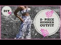 How To Make A Summer Crop Top Tutorial