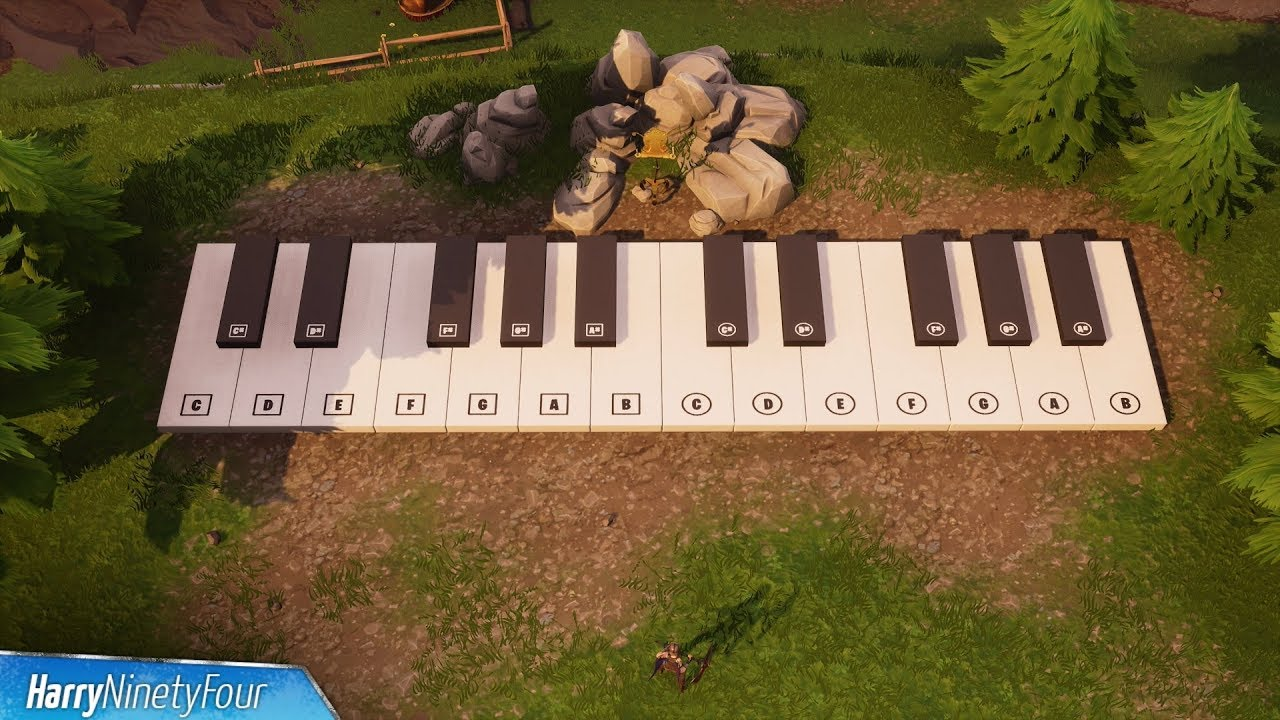 Fortnite: Sheet Music and Piano locations guide | Metabomb