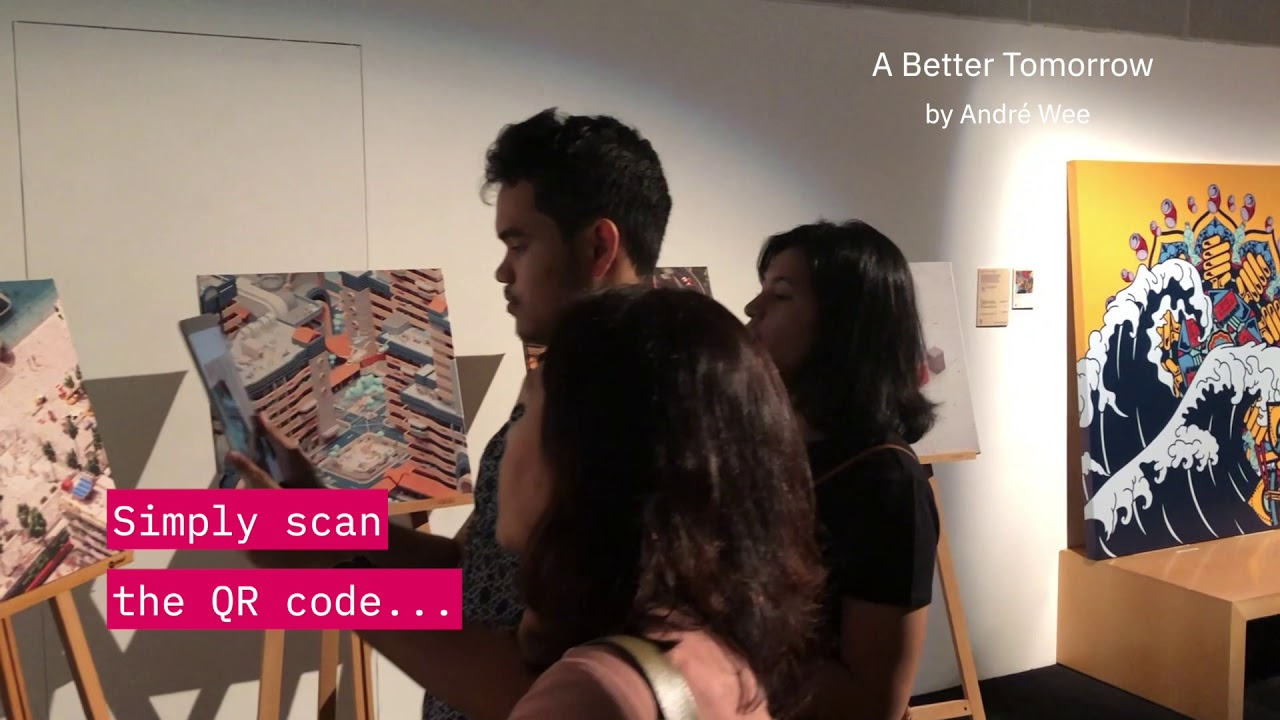 Experiencing AR in art on Facebook vs  Artivive — MeshMinds