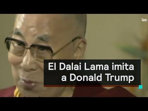 El Dalai Lama imita a Donald Trump - Despierta con Loret