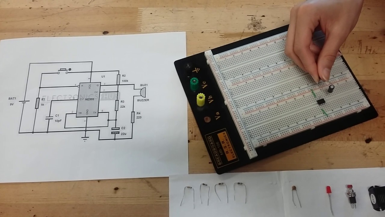Panic Alarm Circuit - YouTube