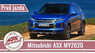 Mitsubishi ASX MY2020 Prvá jazda: Poctivá japonská štvorkolka