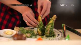 Green Herb Crusted Lamb Chop - e-Kitchen with Chef Norman Program y...