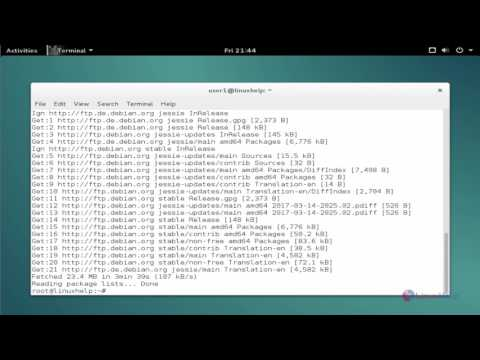 How to install HexChat on Debian 8 3 - YouTube