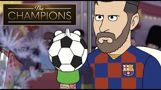 The Champions Best Of: Lionel Messi And His Puppet