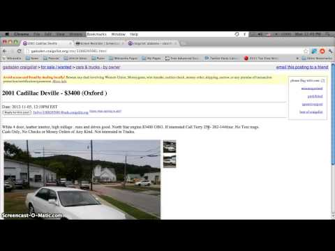 Full Download Craigslist Montgomery Alabama Used Cars For Sale By Owner Finding Low Prices
