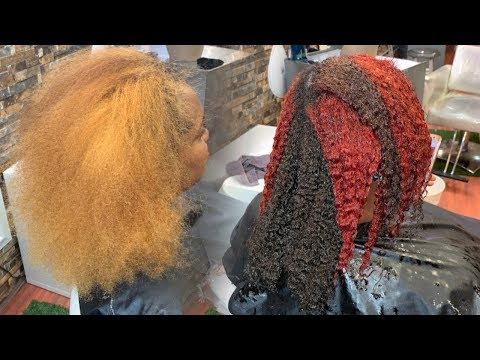 LETS COLOR SOME HAIR! COLOR TRANSFORMATION