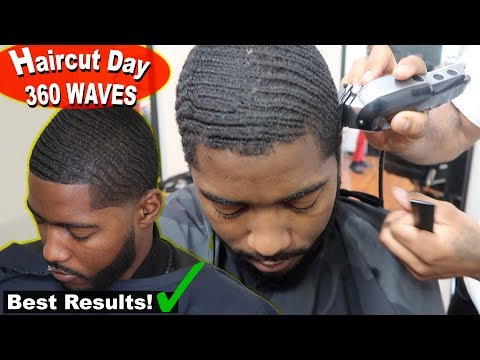 360 Waves Haircut Day Routine For Beginners (Get The Best Results!)
