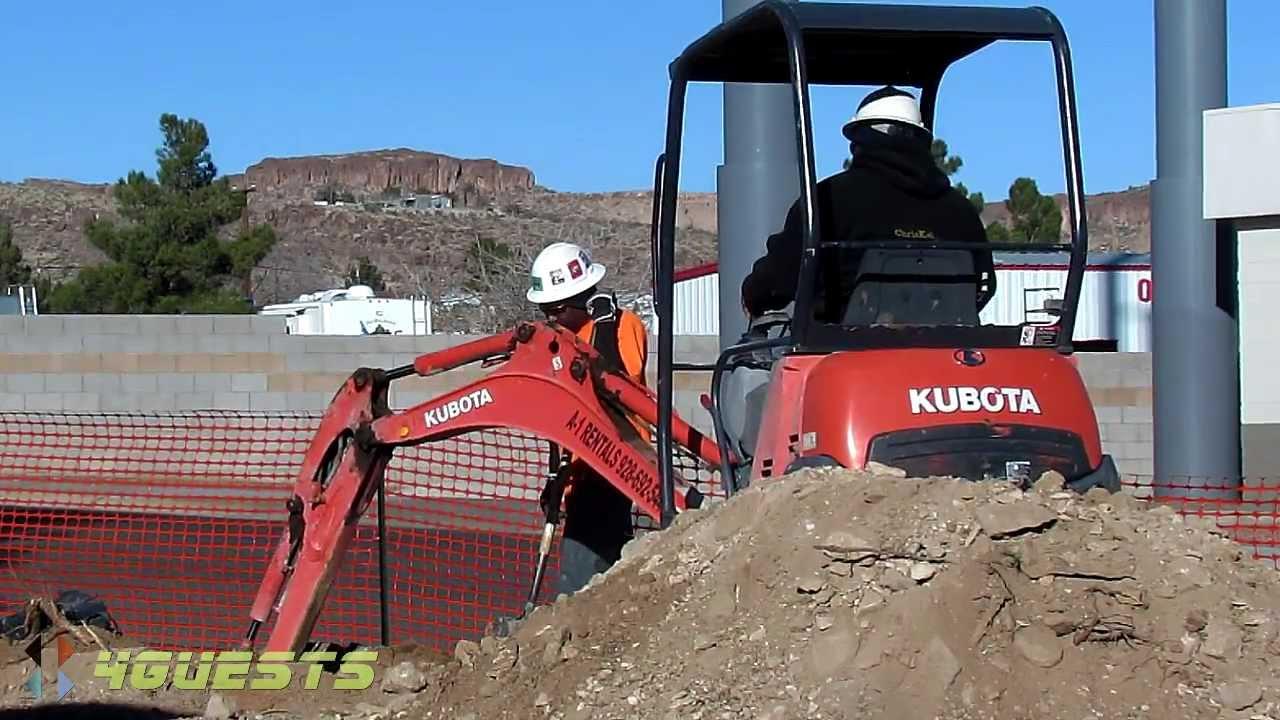 kubota kx41 3v mini compact excavator youtube. Black Bedroom Furniture Sets. Home Design Ideas