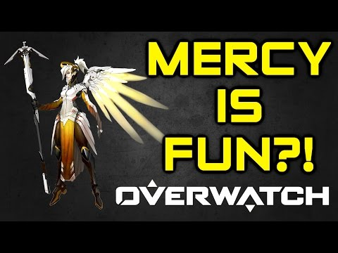 Overwatch - Mercy is Fun?! My Thoughts on Mercy's Mechanics (Overwatch Mercy Gameplay)