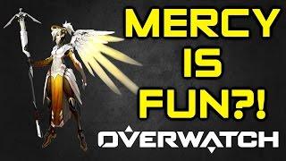 Video Overwatch - Mercy is Fun?! My Thoughts on Mercy's Mechanics (Overwatch Mercy Gameplay) download MP3, 3GP, MP4, WEBM, AVI, FLV November 2017