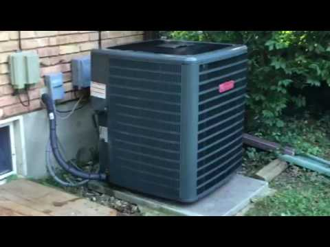goodman 4 ton ac. Installation Of Goodman 4 Ton 410a 16 Seer Condenser Unit Ac