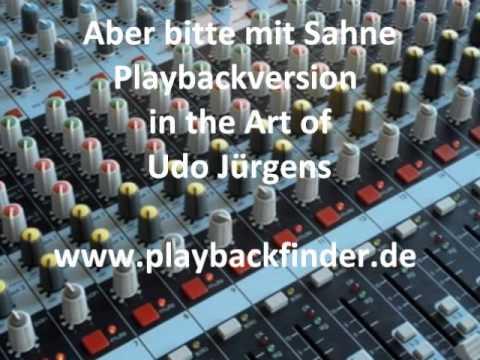 Aber bitte mit Sahne - Playback/ Karaoke in the Art of  Udo Jürgens