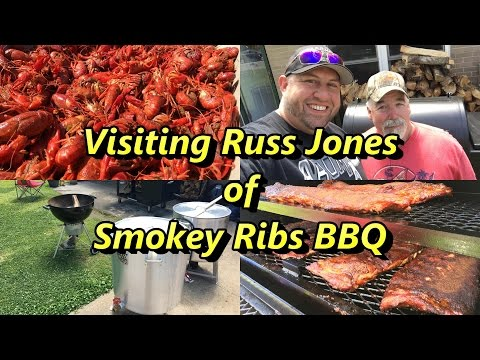 Visiting With Russ Jones of Smokey Ribs BBQ & Southern Cuisine