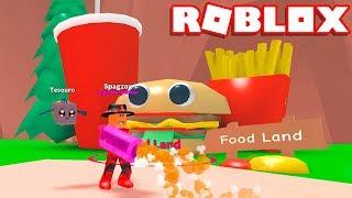 Roblox ' ILHA DA COMIDA !! (FOOD LAND) - Roblox Mining Simulator 🎮