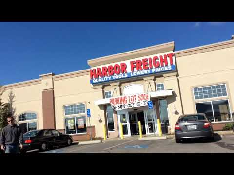 Harbor Freight tent Sale