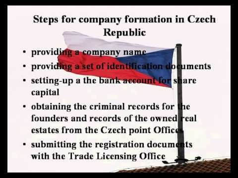 How to open a company in Czech Republic